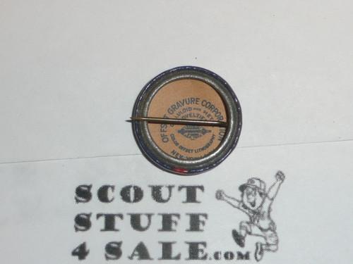 1940's Front view Celluloid Boy Scout Button
