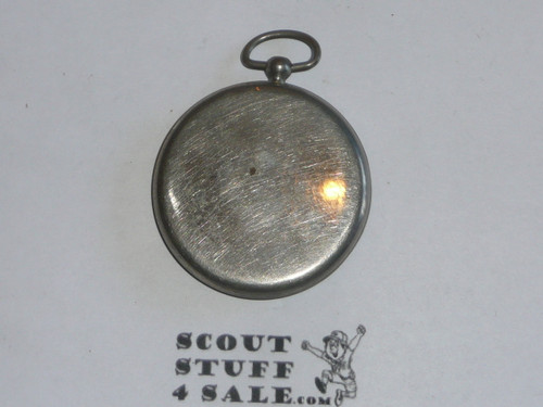 1920s official boys scout compass, no locking screw, does not tell direction, lens discolord