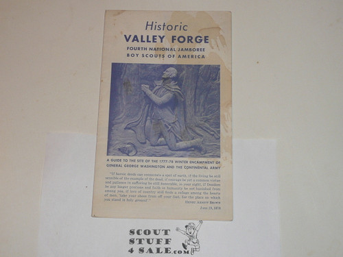 1957 National Jamboree Historic Valley Forge Guide