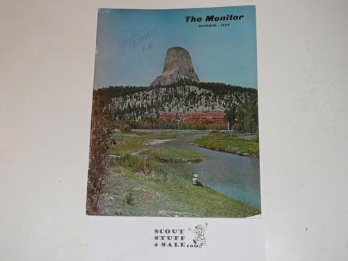 "1960 National Jamboree Magazine ""The Monitor"" with Jamboree Article"
