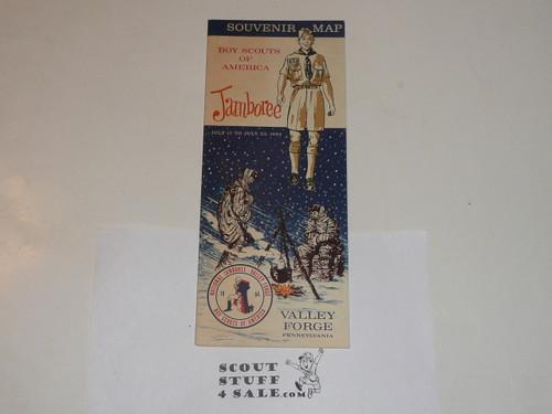 1964 National Jamboree Official Souvenir Map