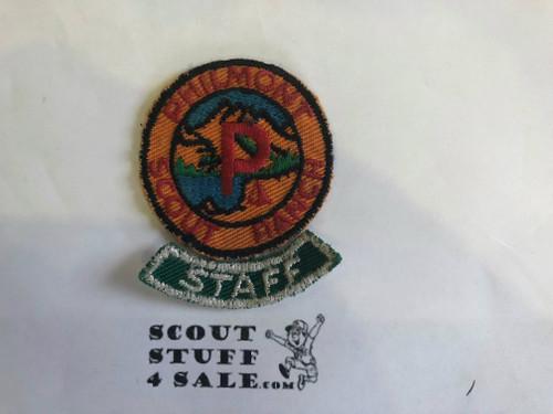 Philmont Scout Ranch, STAFF Segment, RARE, Litely sewn