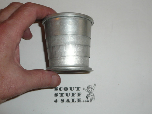1930's Girl Scout Collapsible Tin Cup