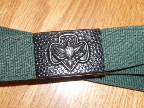 1940s Girl Scout Belt