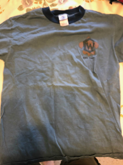 2005 Camp Whitsett Tee Shirt, Mens Small, Lite Use