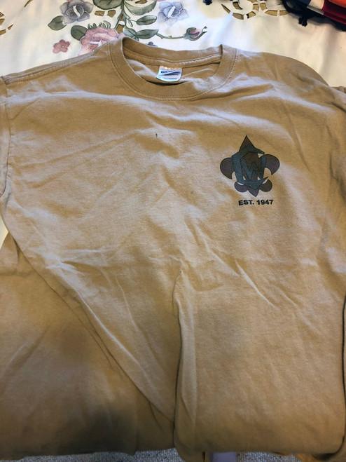 2008 Camp Whitsett Tee Shirt, Mens Medium, Lite Use