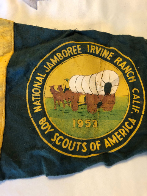 1953 National Jamboree Pennant, used