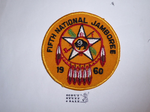 1960 National Jamboree Region 9 Large Patch, sewn but not washed