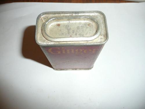 Vintage Spice Schilling Brand Ginger Spice tin