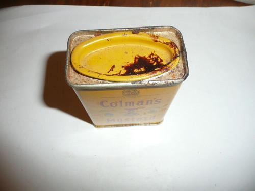 Vintage Spice Coleman's Mustard Spice tin