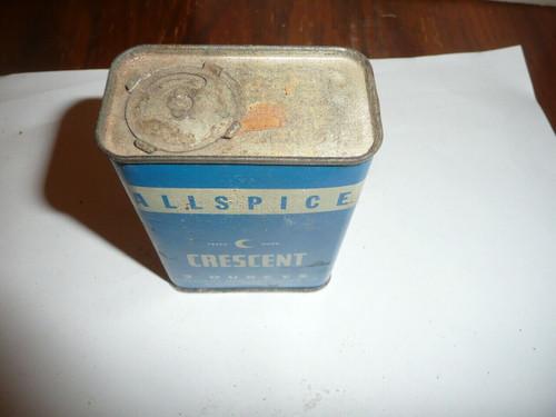 Vintage Spice Crescent Allspice Spice tin