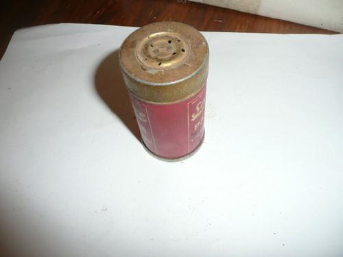 Vintage solitaire paprika Spice tin
