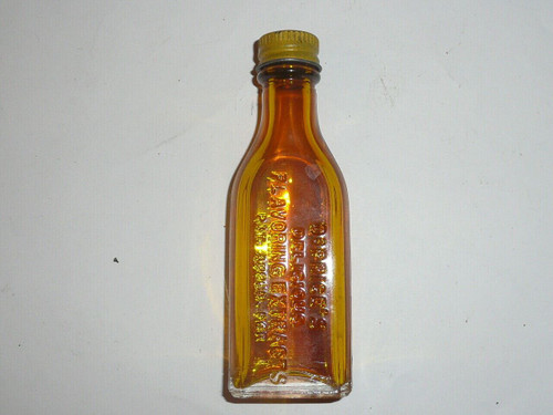 Vintage Spice Dr. Price's Yellow Food Coloring bottle with box
