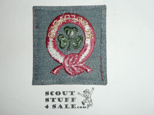 Vintage 40's Girl Scout Uniform Patch in MINT Condition