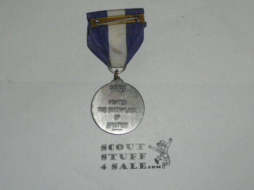 Wright Memorial Trail Medal, pewter pendant