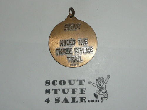 Three Rivers Trail Medal, ILL, Pendant only