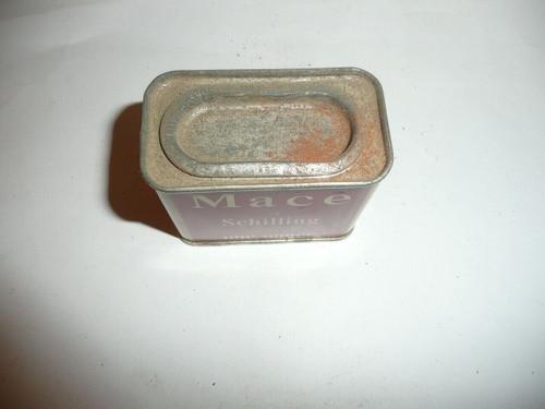 Vintage Spice Schilling Brand Mace Spice tin
