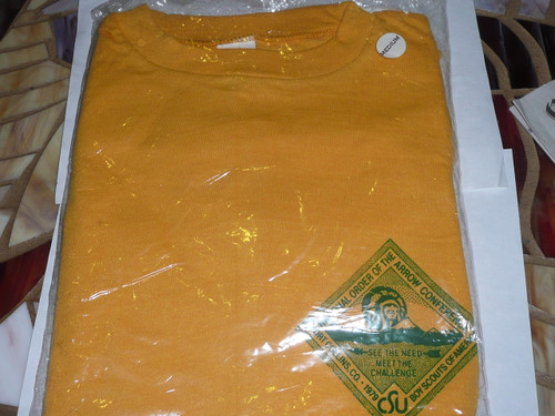 National Order of the Arrow Conference (NOAC), 1979 Tee Shirt, Medium, New in Bag