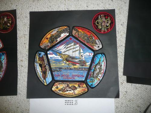 2017 National Jamboree JSP - San Diego Imperial Council, 15 piece Set