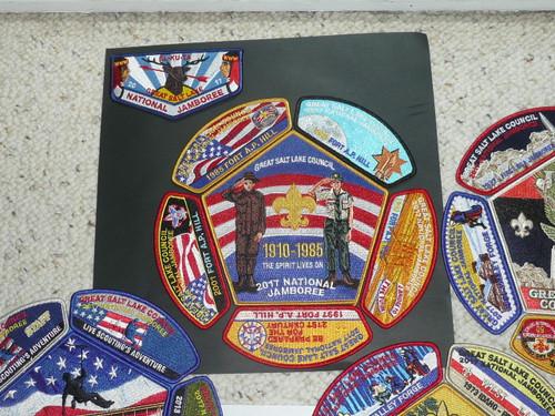 2017 National Jamboree JSP - Great Salt Lake Council 25 piece set