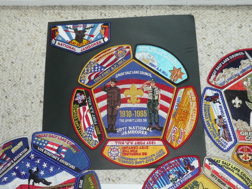 2017 National Jamboree JSP - Great Salt Lake Council 25 piece set