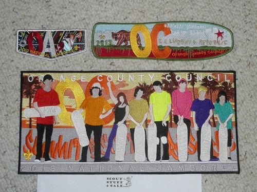 2013 National Jamboree JSP - Orange County Council 12 piece set