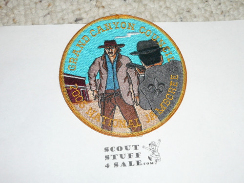 2005 National Jamboree JSP - Grand Canyon Council two sided patch