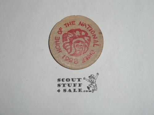 Order of the Arrow Lodge #66 Yah-Tah-Hey-Si-Kess 1998 National Chief Wooden Nickel