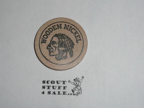 1964 National Jamboree Wooden Nickel, Don Detjen