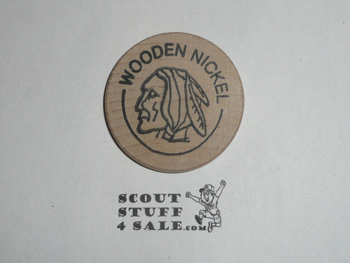 National Scouting Museum, Murray Kentucky, Boy Scout Wooden Nickel