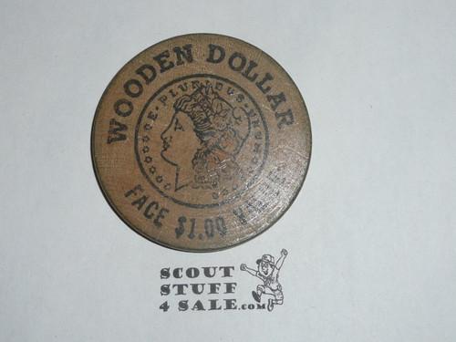 Boy Scout Memorabilia The Carolina Trader Boy Scout Large Wooden Nickel