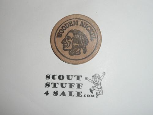 Texas Forestry Museum Wooden Nickel