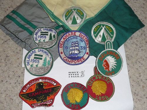 Collection of 43 Event/District items from Philadelphia Scout Council 1940-1960