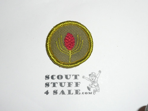 Forestry - Type F - Rolled Edge Twill Merit Badge (1961-1968)