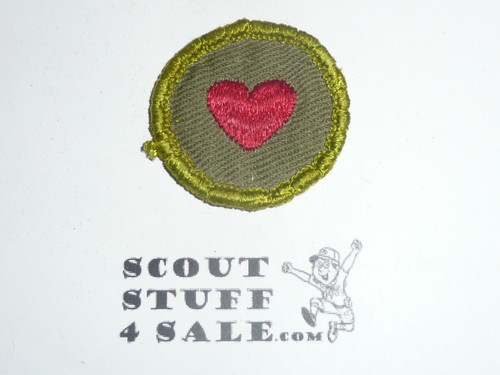 Personal Fitness - Type F - Rolled Edge Twill Merit Badge (1961-1968), sewn