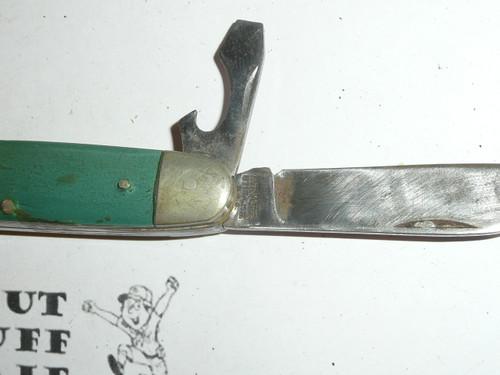 Girl Scout Pocket Knife, Kutmaster Manufacture, Lite Use (CSE63)
