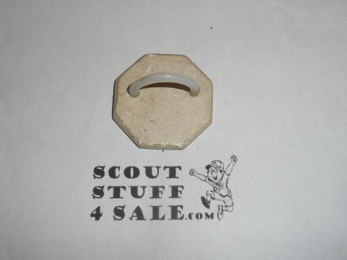 Junior Leader Training Plaster Neckerchief Slide, Sold at Philmont
