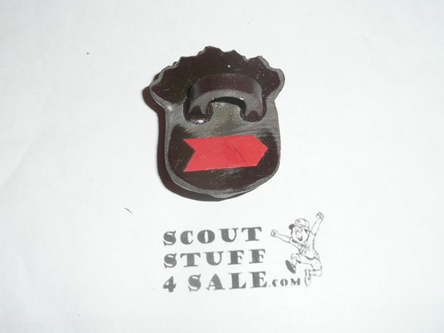 Goofy Indian Resin Neckerchief Slide, by Torchy #2