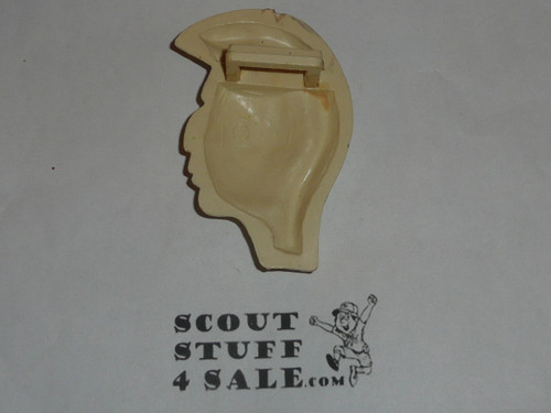 Indian Brave Plastic Neckerchief Slide, by Torchy