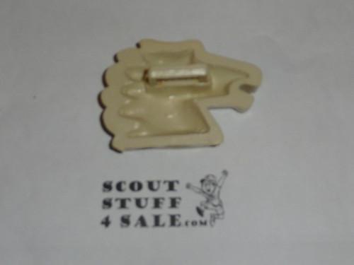 Horsehead Plastic Neckerchief Slide, by Torchy