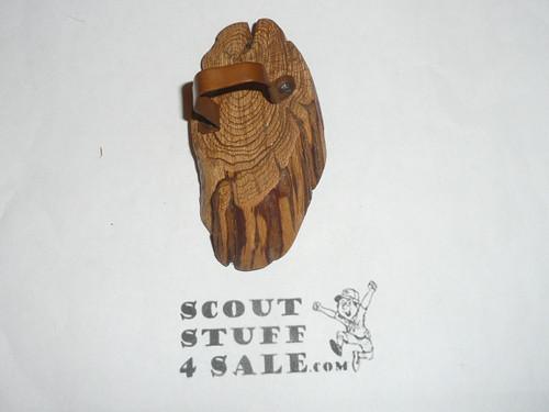 Wood Slice Neckerchief Slide