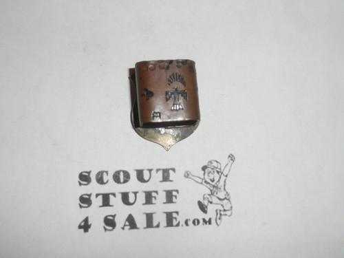 Homemade Metal Shield ASM Neckerchief Slide #2
