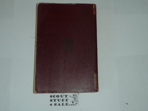 1911 Boy Scout Handbook, First Edition, 404 Pages, Some Spine and cover Wear, RARE 1911 red cover