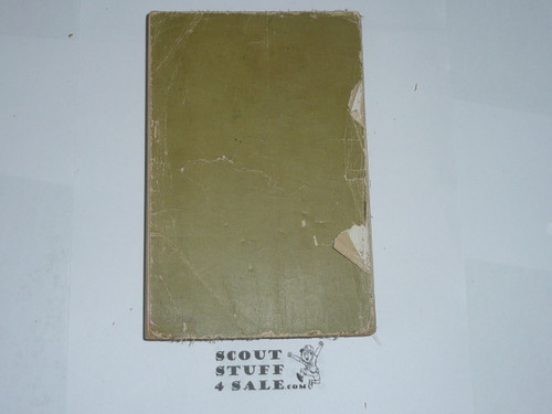 1921 Boy Scout Handbook, Second Edition, 23rd 1-21 Printing, wear to spine and covers
