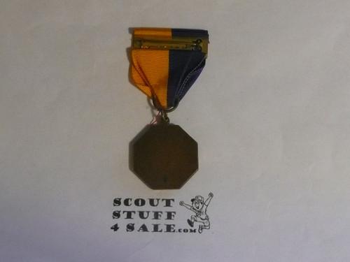 Cub Scout Bronze Contest Medal, Stange Hallmark
