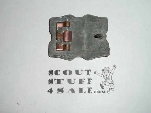 Cast Old Kentucky Home Council, Boy Scout Belt Buckle, missing back bracket