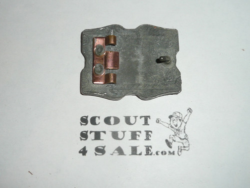Cast Old Kentucky Home Council, Boy Scout Belt Buckle, missing back bracket