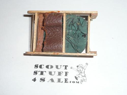 Handmade Sled Neckerchief Slide