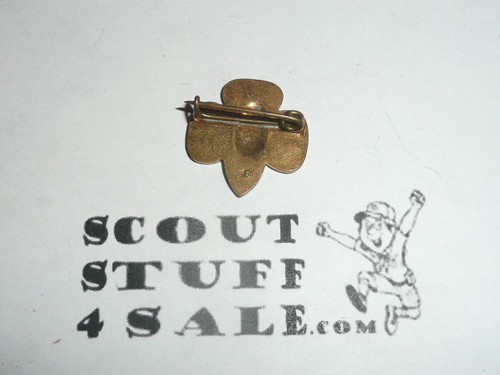 Girl Scout Universal Logo Pin, bent wire clasp