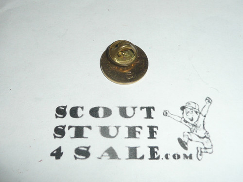 Girl Scout World Pin, Post Back